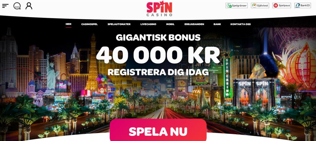 Spin Live Casino Sverige